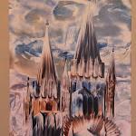 Katedrális-sorozat egyik alkotása
