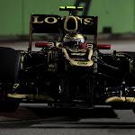 Romain Grosjean Lotus E20