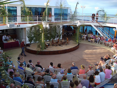 """There was a cultural performance called """"The children of Raiatea"""""""