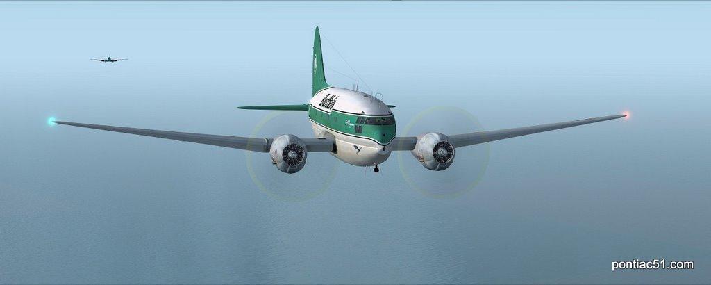 DC-3 closing the gap.