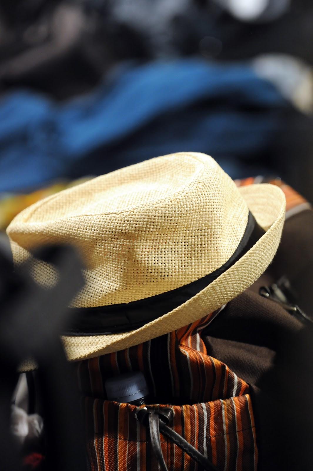 Chapeau d'artiste dans les Loges - Crédit Frédérique Calloch