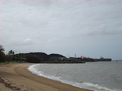 The beach at Gladstone