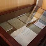 A teremben Czuczor Gergely kéziratának másolatát is megtekinthették az érdeklődők