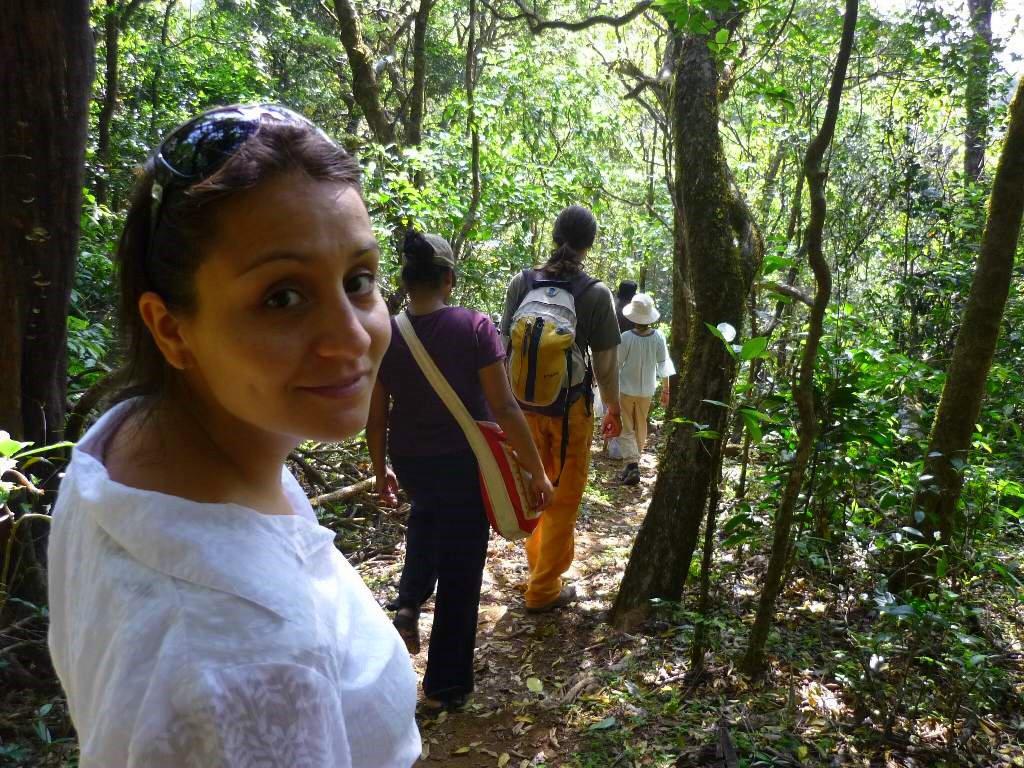Jungle trekking...