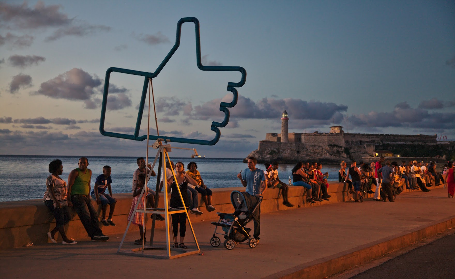 Seems that Cubans have heard of Facebook, but most cannot use it