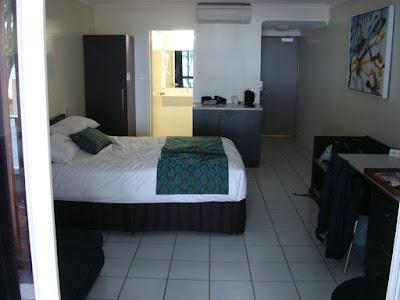 My room at the Castaways Resort