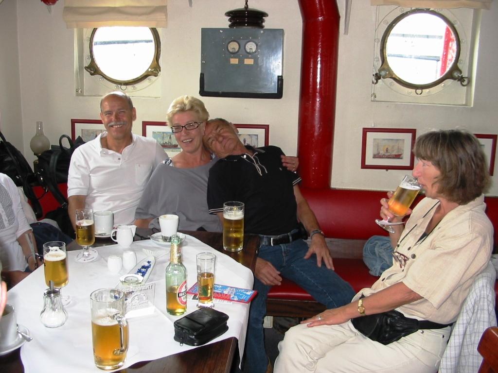 Ausflug der Moterbootfahrer nach Hamburg