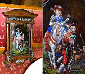 Антикварная фарфоровая картина  19-й век. 15000 евро.