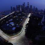 View of the city circuit Singapore