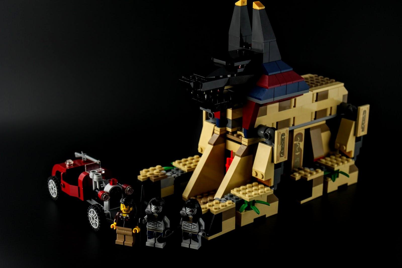 7326-Rise of the Sphinx:斯菲尼克斯的崛起,是LEGO在2014年的埃及系列套組
