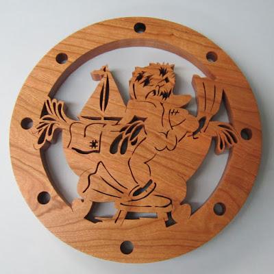 Tub Adventure by Briden Woodworks Creative Woodworks & Crafts 2001-10 Cherry