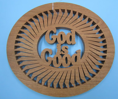God is Good Trivet Pattern By Sylvia