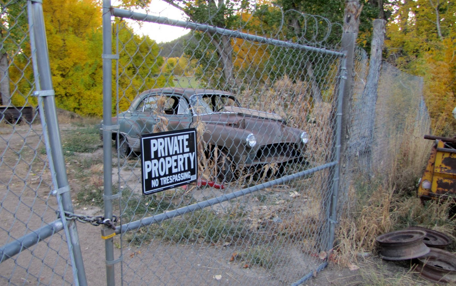 Private Property :) 1950 Pontiac Chieftain