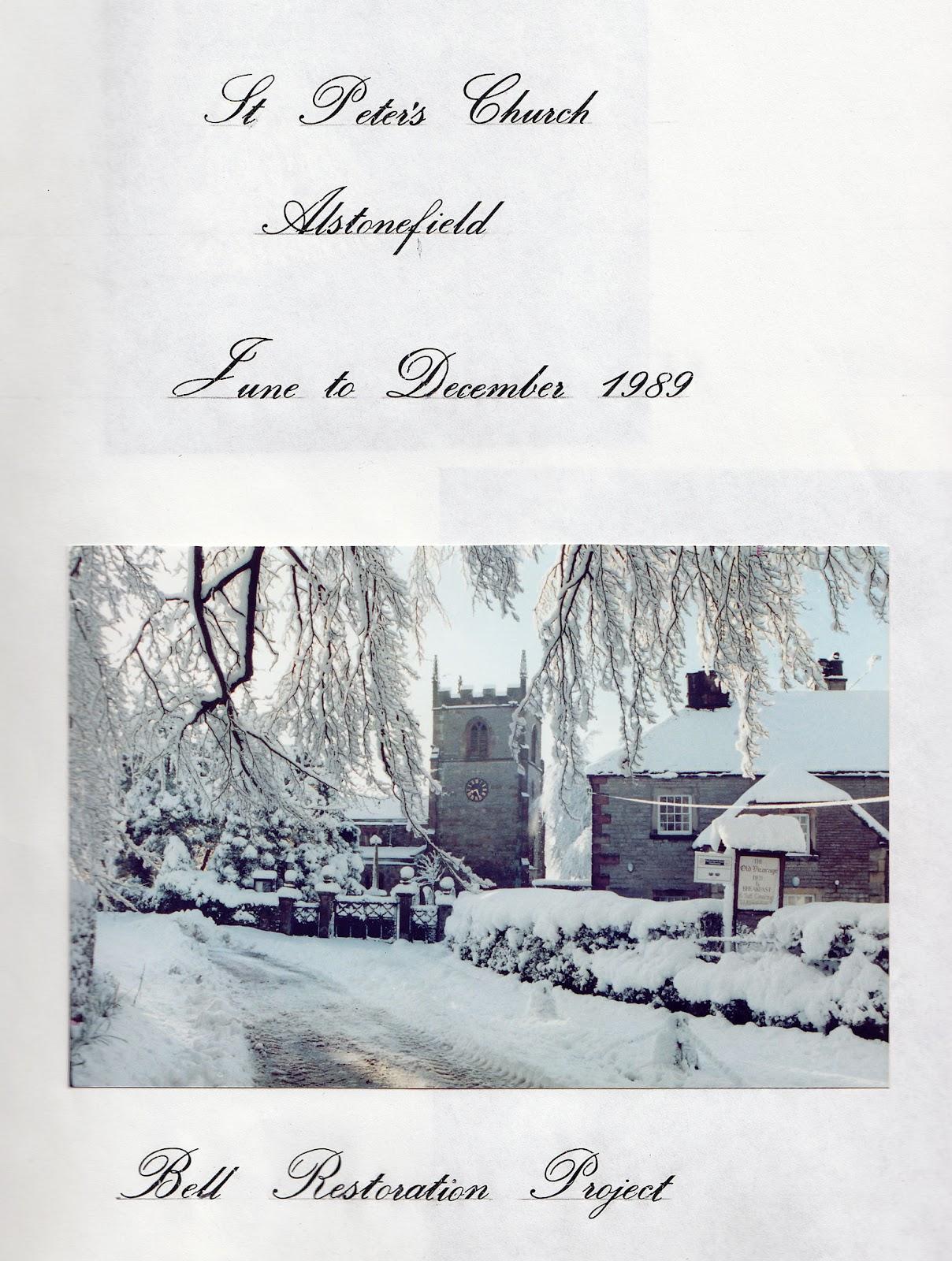 Bells Restoration 1989