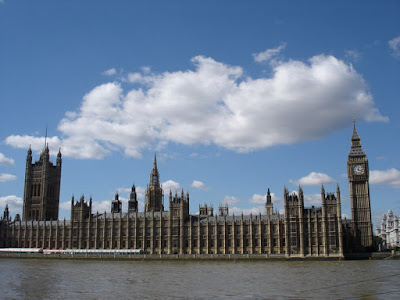 Parliament from the other side of the Thames