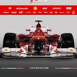 Ferrari F2012 front
