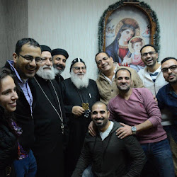 Fathers visit to Egypt Monasteries & Bishops