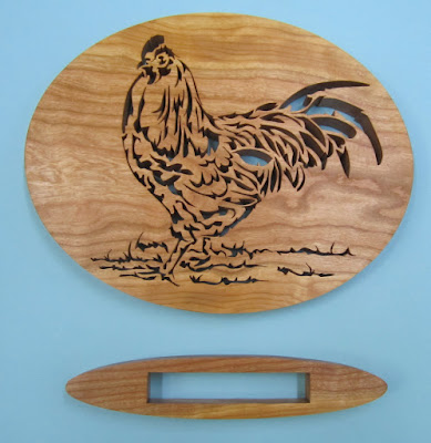 Rooster Tails Jacob Fowler Creative Woodworks & Crafts 9-2008 Cherry