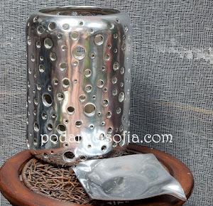 Метален пепелник и фенер - оргинални аксесоари за дома