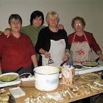 A görögkatolikus asszonyok palacsintát sütöttek