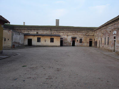 The main yard