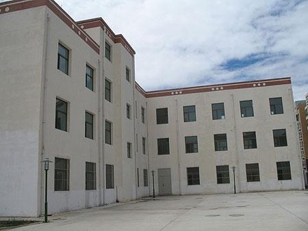 Building of Amdo Eye Hospital 2009