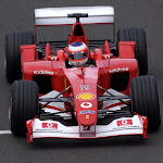 Rubens Barrichello Ferrari 248 F1
