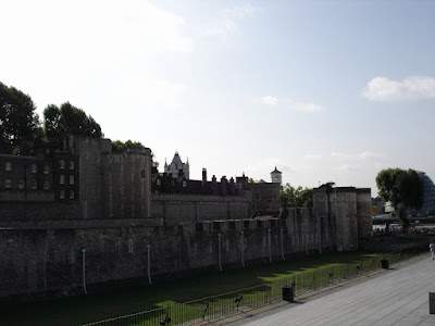 Outside the Tower of London