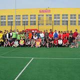 Skupinové foto před začátkem turnaje