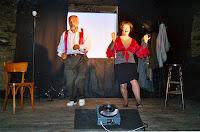 Cie Corbokiri, Le Chat de Mme Martin 09, Apéro-Théâtre, Cuillé 2004