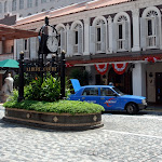 A typically colonial scene in Singapore, this one in Little India
