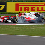 Button McLaren MP4-26 VS Massa Ferrari F150
