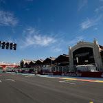 Main straight Valencia Street Circuit