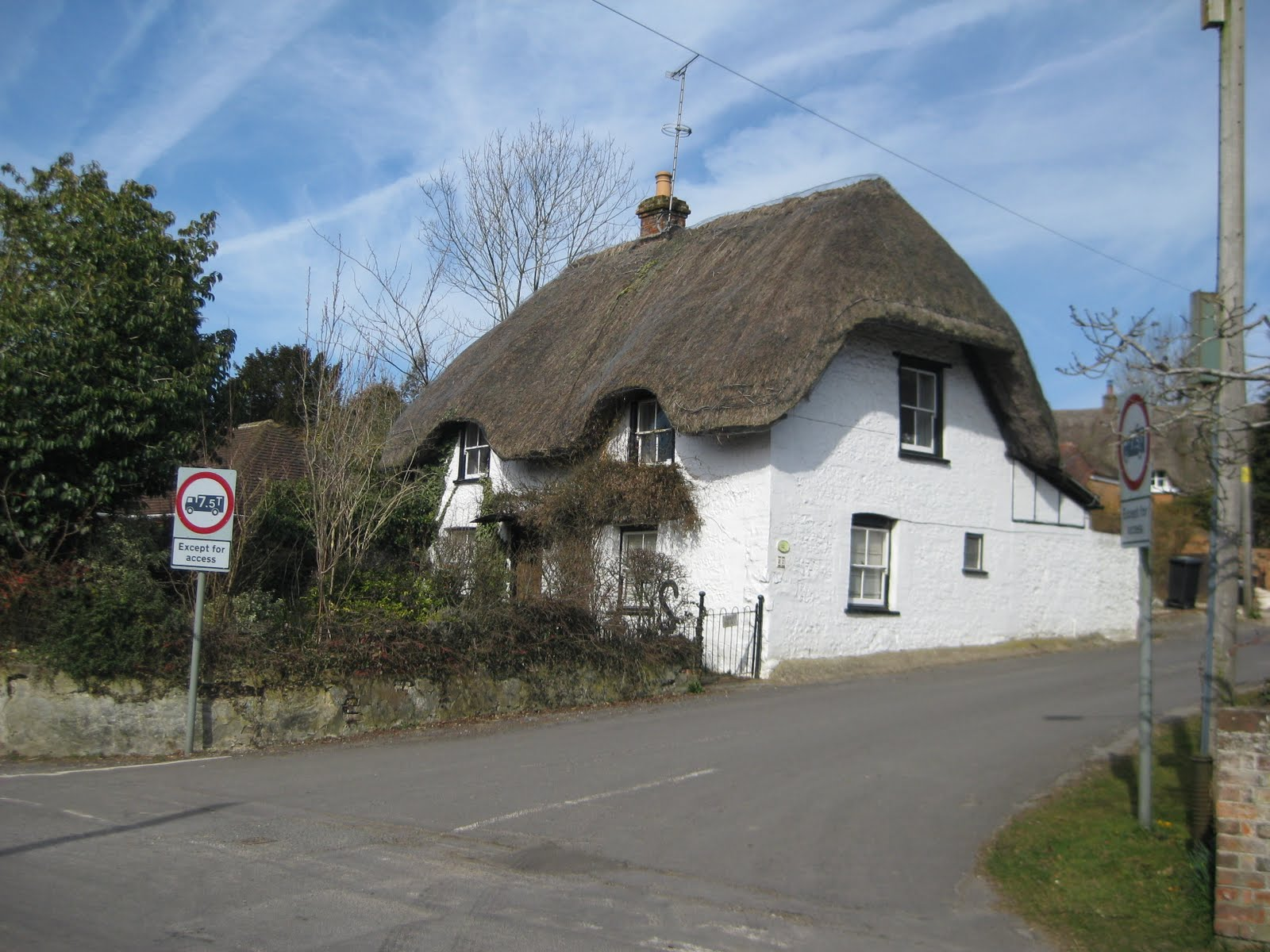 Again, thatched roof
