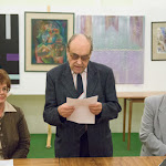 Duba Gyula író mondta el megnyitó beszédét