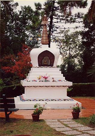 Lama Yeshe stupa at Instituto Lama Tzong Khapa, Italy