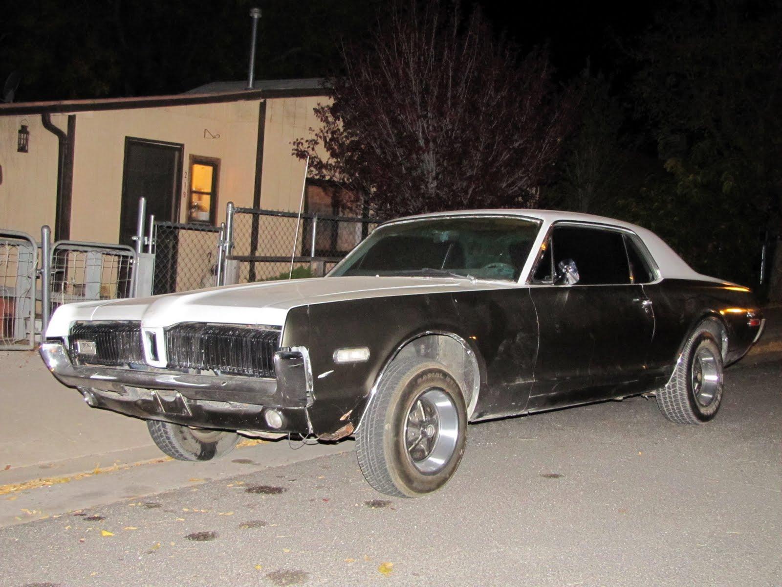 Route 66, Arizona, 1967 Mercury Cougar