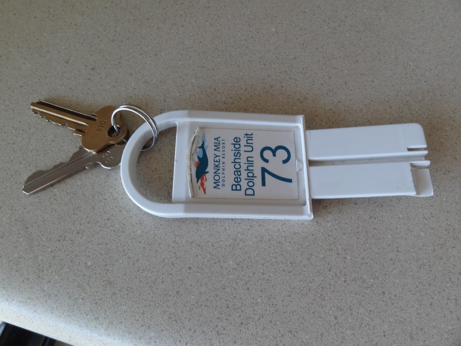 the most annoying hotel key ever!