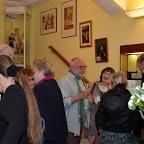 Public entouré par une belle collection Marilyn Monroe, prêtée par Ted Rota.