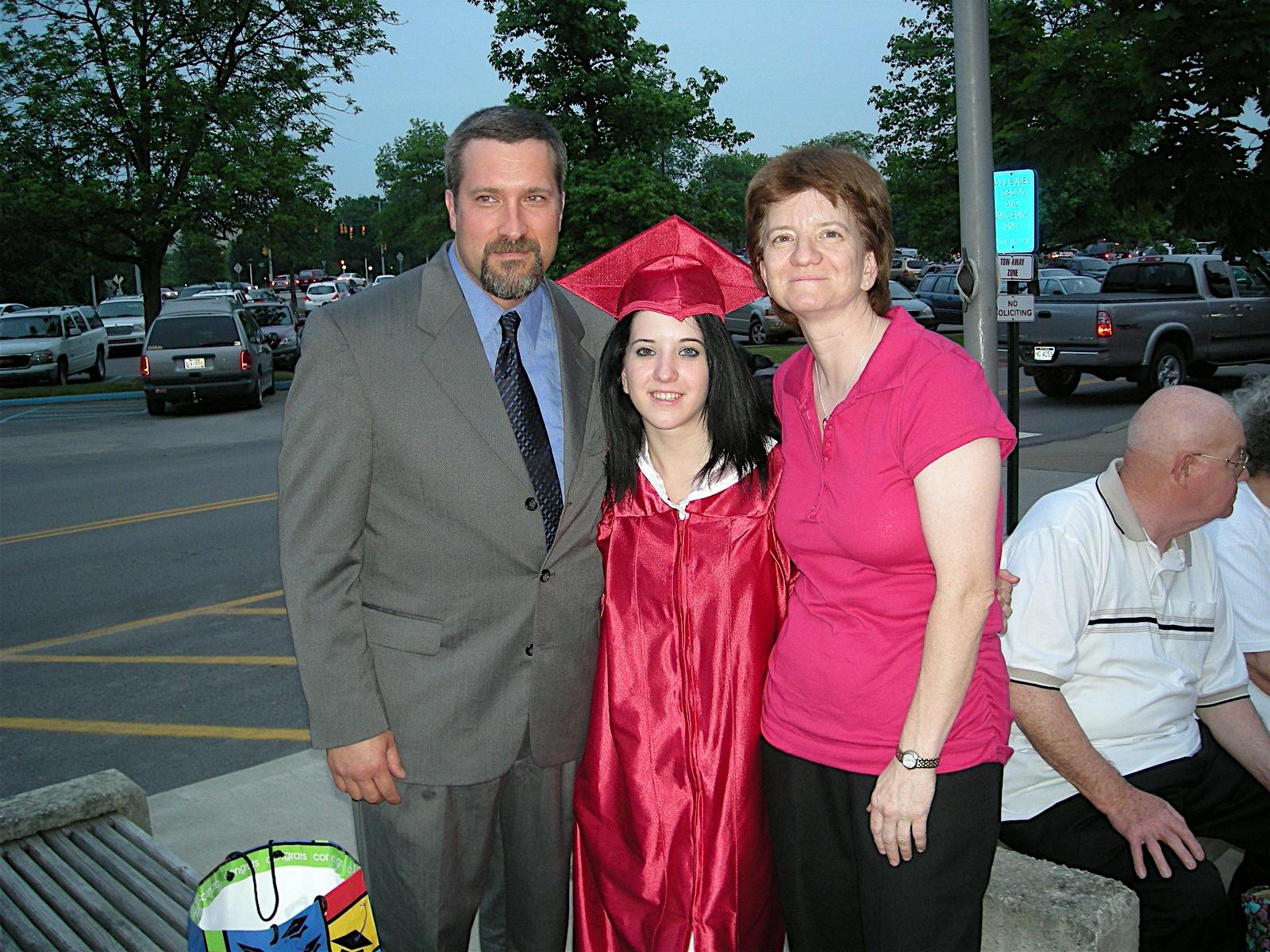 Annie's Graduation - University High, Morgantown WV