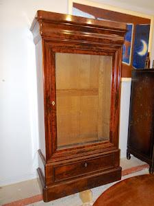 Книжный шкаф красного дерева. 19-й век.