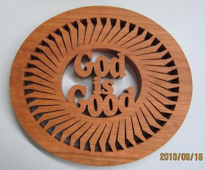God is Good Trivet Pattern By Sylvia CHERRY