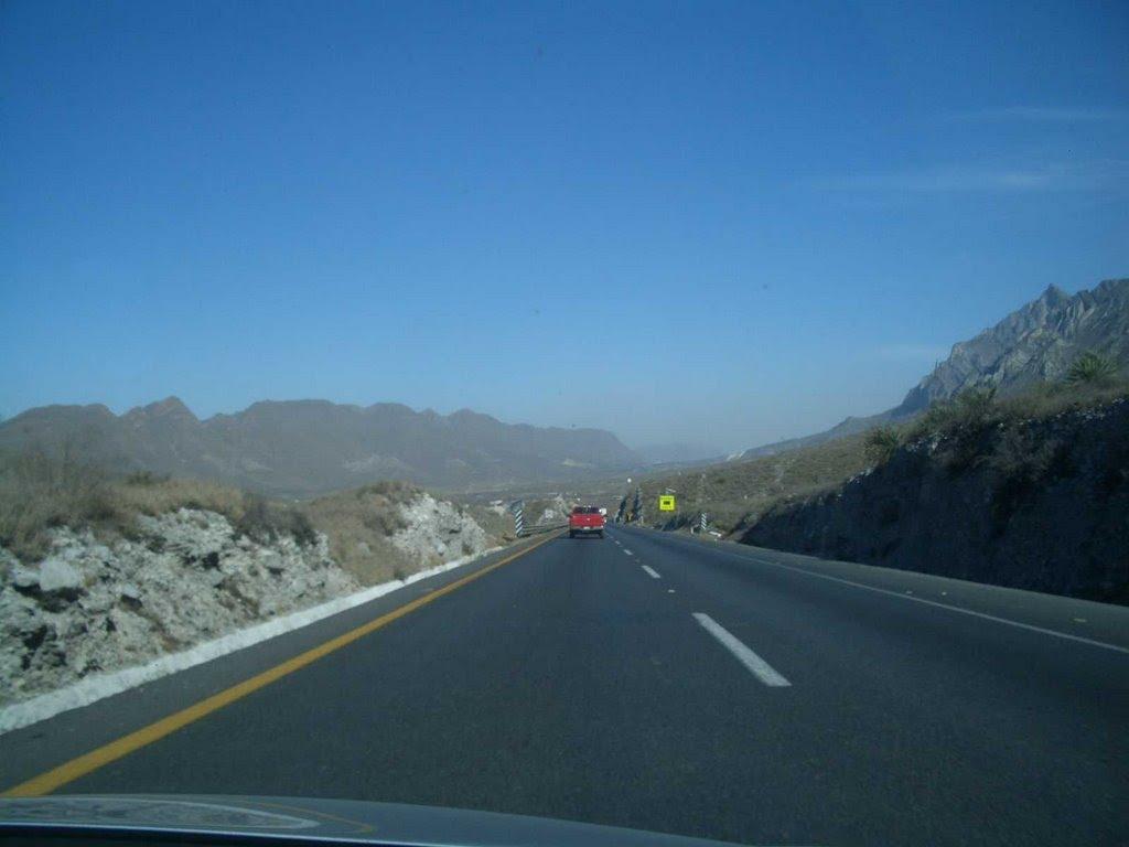 auf dem Weg nach Monterrey