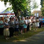 Az ünnepi istentiszteleten résztvevő hívek