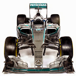 Mercedes W06 front view