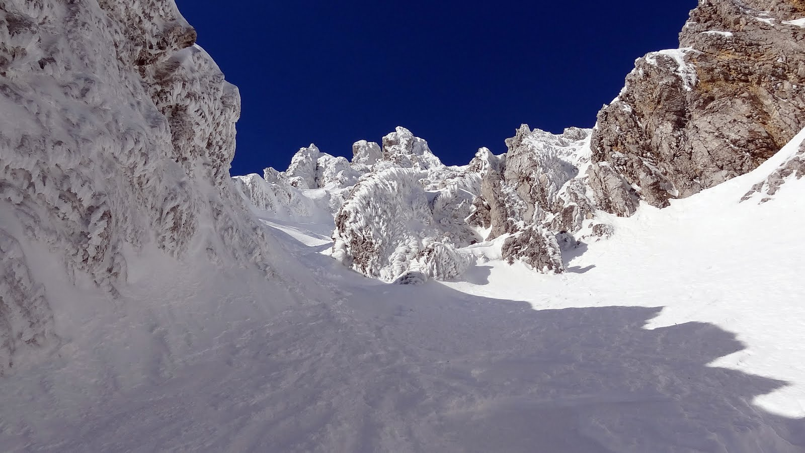 snježna galerija