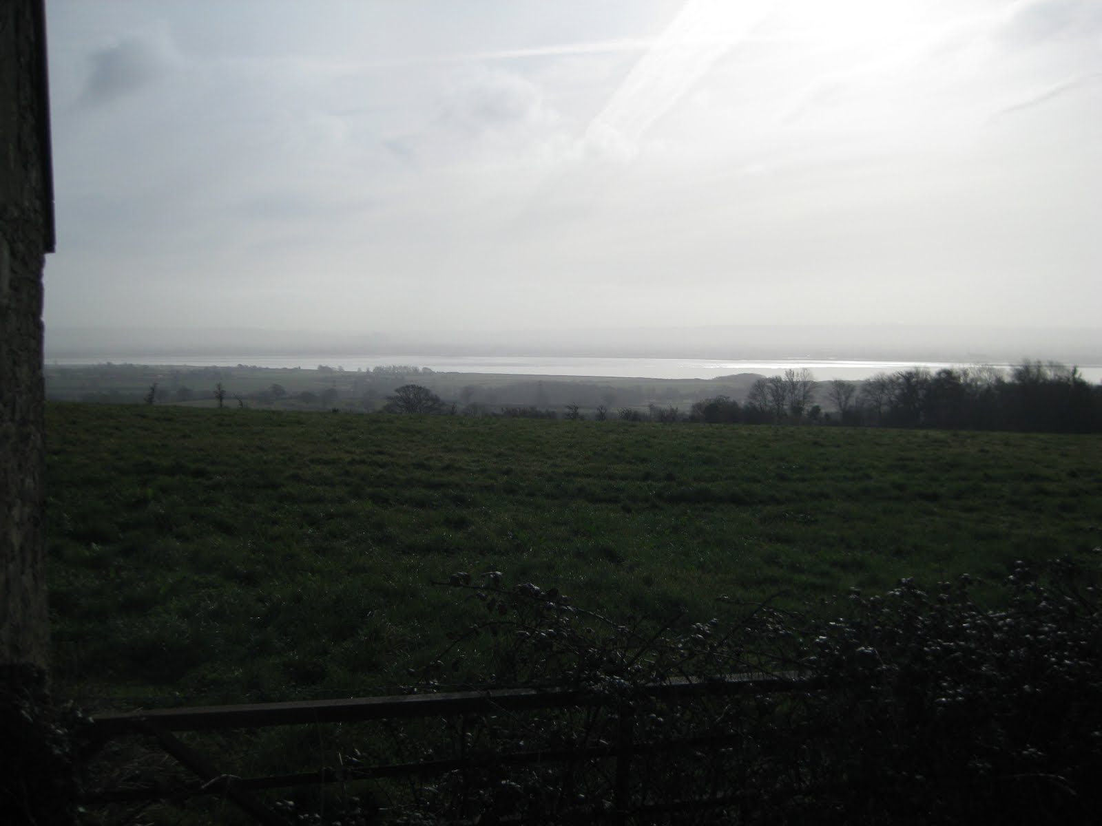 Overlooking the Severn
