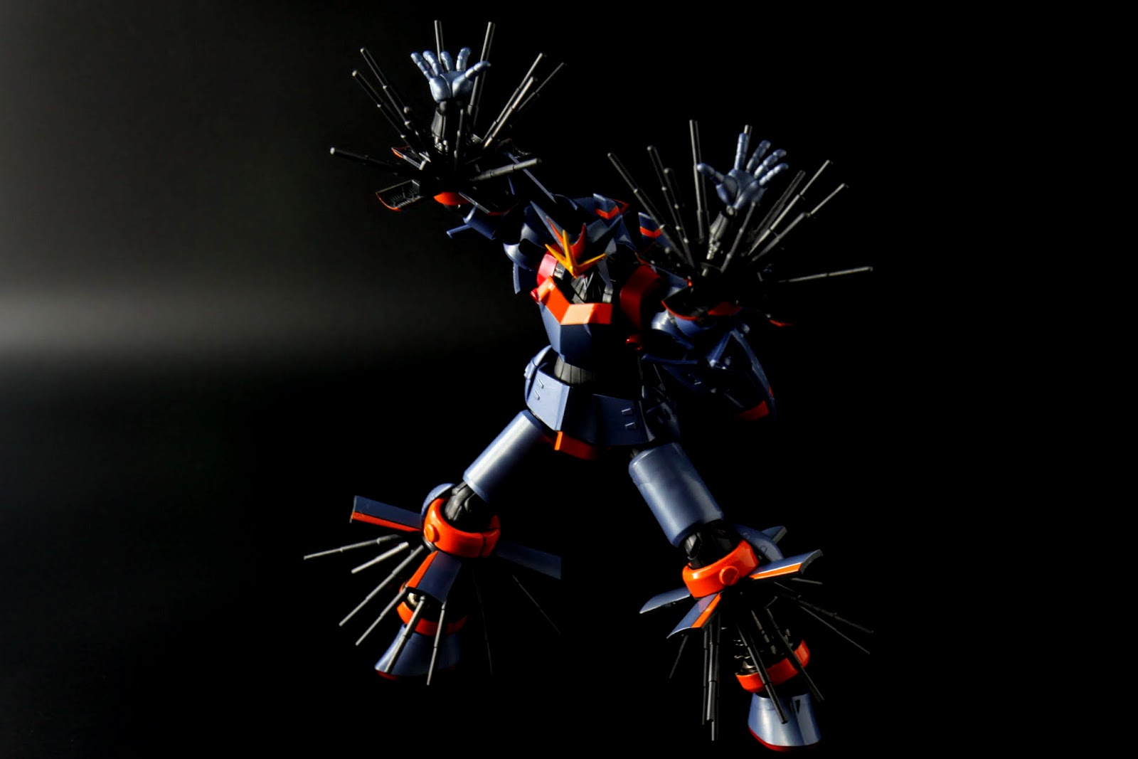 ダブルバスター~~~コレダー!!!!! 就是雙手雙腳都伸出電擊棒給宇宙怪獸一個暢快!