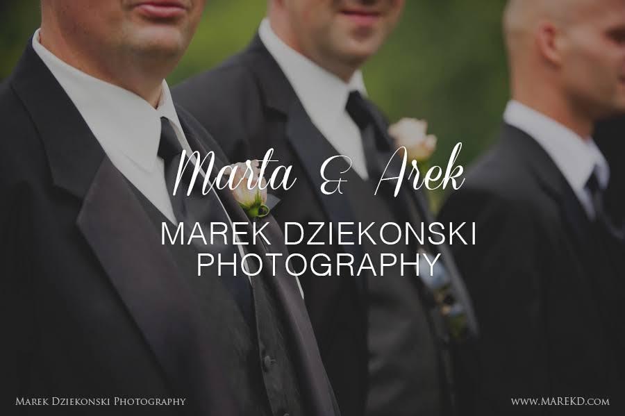Marta & Arek by Marek Dziekonski Photography