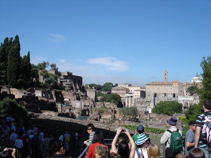 A tour through the ruins